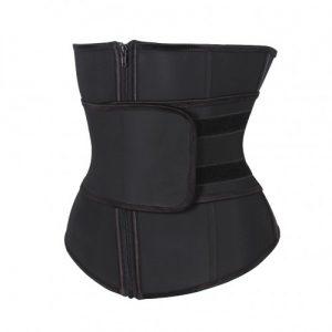 Adjustable Waist Belt Slimming Zipper Latex Waist Cincher