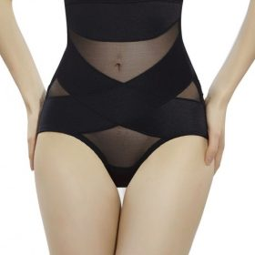 Basic Shaping Black High Waisted Booty Lifter Crossover
