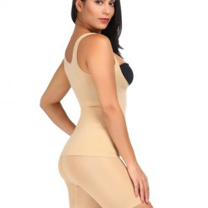 Enthralling Nude High Waist Shaping Sets 4 Steel Bones Slimming Waist