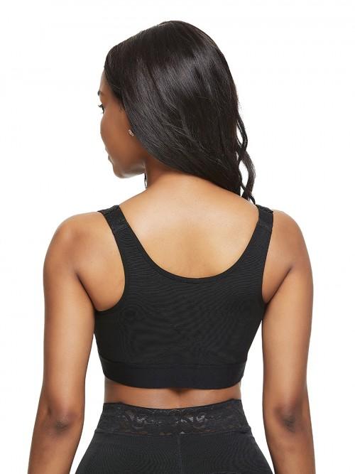 Most Comfortable Black Big Size Posture Corrector Bra Hooks Trimmer