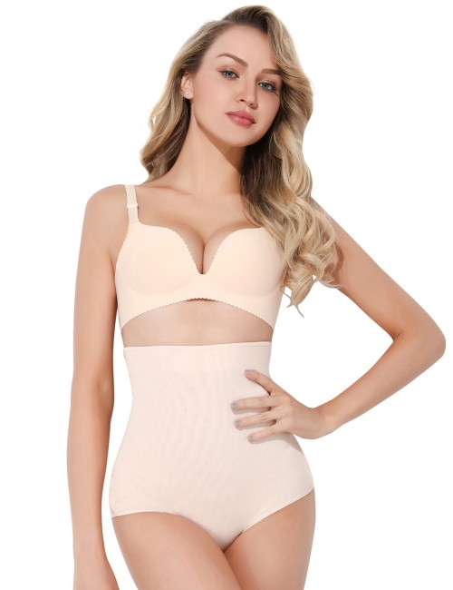 Perfect Nude Sticker Booty Lifting Brief High Waisted Shapewear