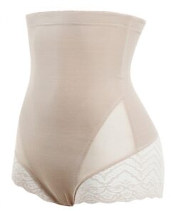Plastic Boned Lace Double Layers Big Size Butt Enhancer Ultimate Stretch