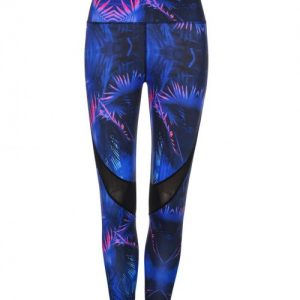 Printing Mesh Insert Sports Tights Entrancing Superior Quality