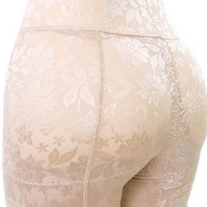 Sleek Jacquard Cotton Padded Slimming Butt Lifter Shaper