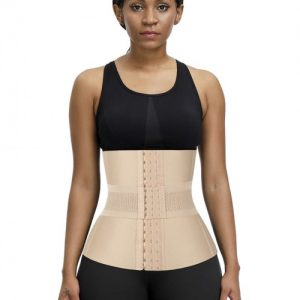 Slimmer Skin Plus Size 16 Steel Boned Waist Trainer Bandage Natural Shaping