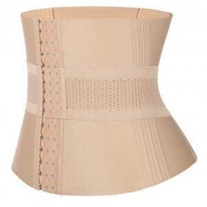 Slimmer Skin Plus Size 16 Steel Boned Waist Trainer Bandage Natural Shaping