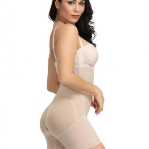 Ultrathin Nude Plus Size Mid-Thigh Butt Lift Body Shaper Slimming