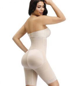 Women Skin Butt Enhancer Shaper Plain High Rise Instantly Slims