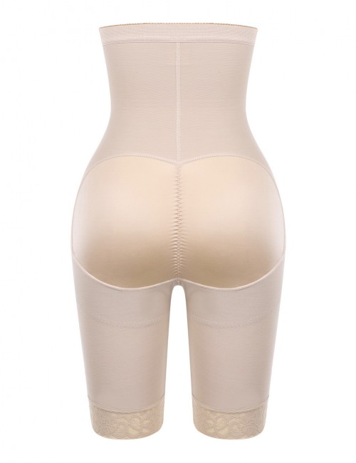 Women Skin Butt Enhancer Shaper Plain High Rise Instantly Slims