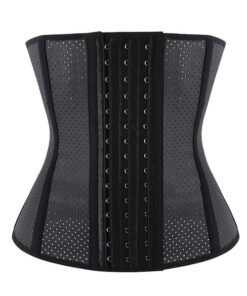 Women's Breathable Latex Sport Girdle Waist Training Corset Waist Shaper