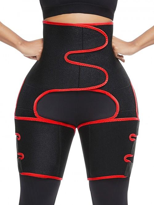 Enhancer Black Neoprene Thigh Trainer Butt Lifting Secret Slimming