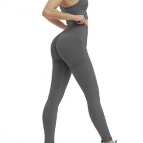 Astonishing Deep Gray Adjustable Strap Cropped Sweat Suit