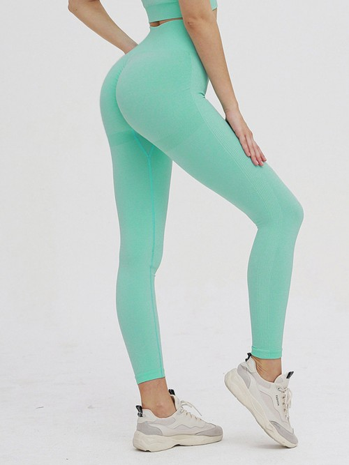Astonishing Green Adjustable Strap Cropped Sweat Suit