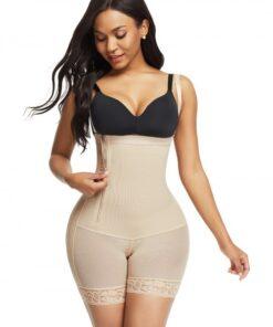 Bandage Detachable Straps Side Zip Body Shaper Ultra Cheap