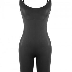 Black Adjustable Straps Big Size Full Body Shaper Compression Silhouette