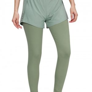 Boldly Green Running Pants High Waist Reflective Luscious Curvy