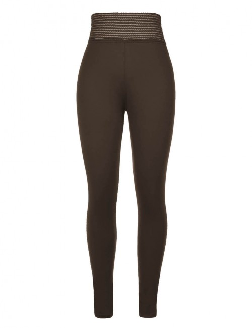 Cheeky Army Green Mid Waisted Sports Leggings Push Up Female Grace