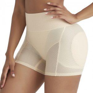 Contour Skin Color Butt Lifter Sponge Pad Solid Color Close Fitting
