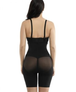 Curve-Creating Crotchless Booty Lifting Cross Body Shaper Queen Size Fitness