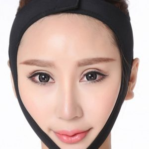 Desirable Designed Black Sticker Face Belt Uplift Shaping Mask