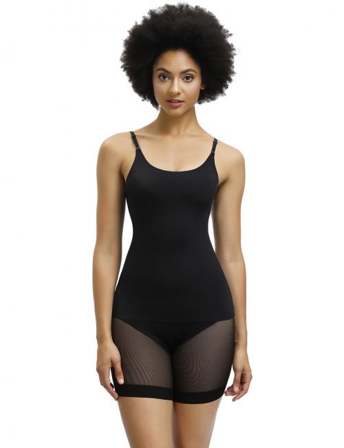Desirable Designed Black Adjustable Straps Full Body Shaper Lace Amazing Shape