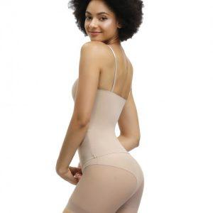 Desirable Designed Skin Adjustable Straps Full Body Shaper Lace Amazing Shape