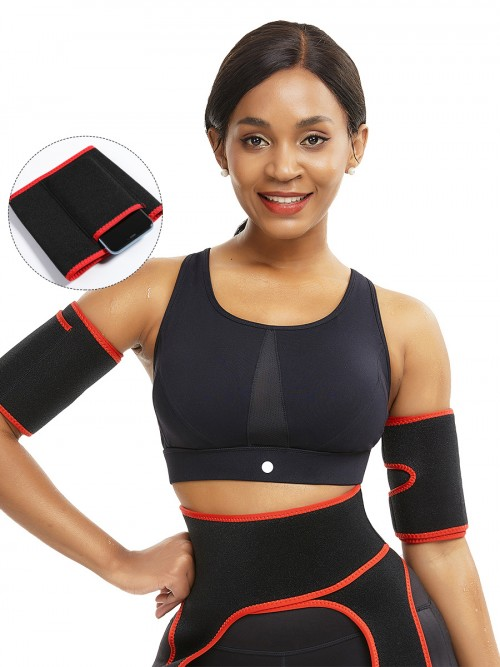 Essential Red Adjustable Sticker Neoprene Arm Shaper Natural Shaping