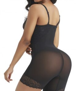 Flexible Black Shapewear Tummy Control Removable Straps High Quality