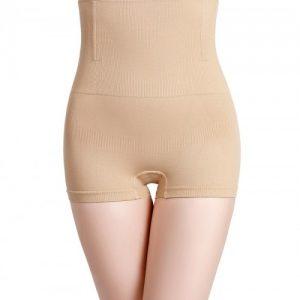 Haute Contour Apricot High Waist Padded Panties Seamless Slim Girl