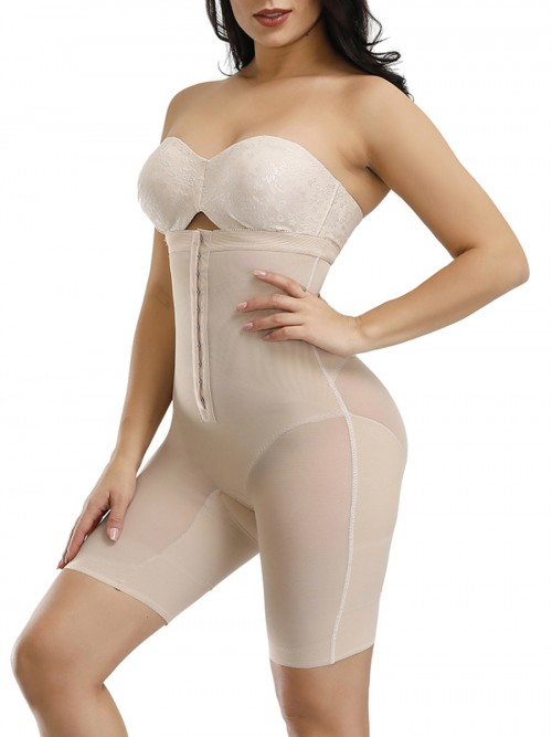 Hot Sale Plastic Bones Full Body Shaper Straps Firm Compression