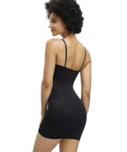 Hourglass Skin Adjustable Straps Plain Full Body Shaper Skirt Smoothlines
