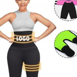 Instantly Slims Black Sticker High Rise Zipper Thigh Shaper Slim