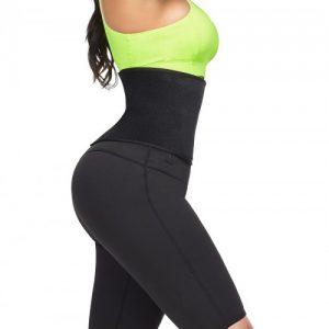 Instantly Slims Green Sticker High Rise Zipper Thigh Shaper Slim