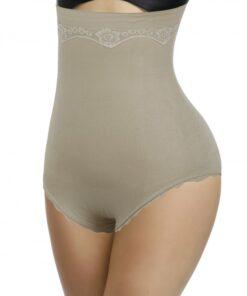 Instantly Slims Skin Color Big Size Shapewear Pants High Waist