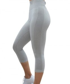 Shaping Light Grey Athletic Legging Lift Butt Seamless Free Time