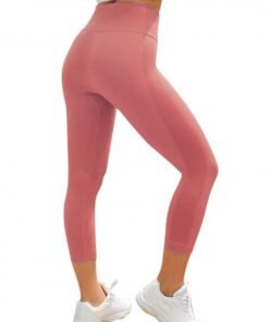 Shaping Pink Athletic Legging Lift Butt Seamless Free Time