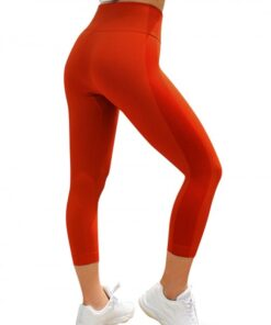 Shaping Red ow Athletic Legging Lift Butt Seamless Free Time