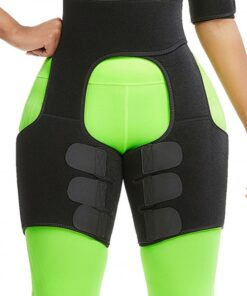 Slim Black Butt Lifting Neoprene Thigh Shaper Soft-Touch