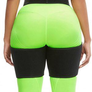 Slim Black Butt Lifting Neoprene Thigh Shaper Soft-Touch