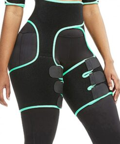 Slim Light Green Butt Lifting Neoprene Thigh Shaper Soft-Touch