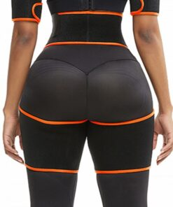 Slim Orange Butt Lifting Neoprene Thigh Shaper Soft-Touch