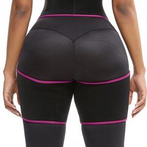 Slim Pink Butt Lifting Neoprene Thigh Shaper Soft-Touch