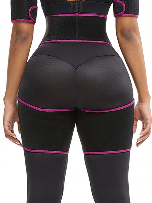 Slim Pink Butt Lifting Neoprene Thigh Shaper Soft-Touch