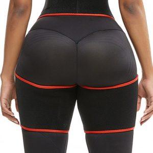Slim Red Butt Lifting Neoprene Thigh Shaper Soft-Touch