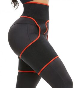 Slim Red Butt Lifting Neoprene Thigh Shaper Soft-Touch