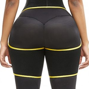 Slim Yellow Butt Lifting Neoprene Thigh Shaper Soft-Touch