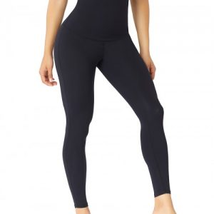 Slimming Stomach Black High Waist Solid Color Pants Shaper