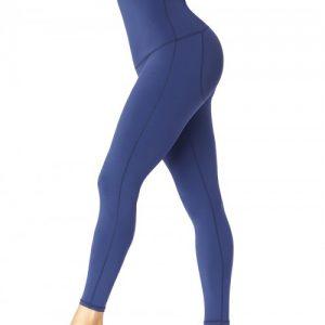 Slimming Stomach Black High Waist Solid Color Pants Shaper