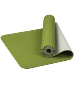 Sporty TPE Yoga Mat Reticular Fiber Tasteless