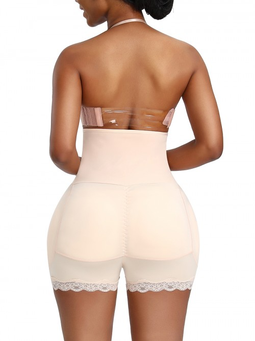 Superfit Everyday Black High Waist Butt Shapewear Large Size
